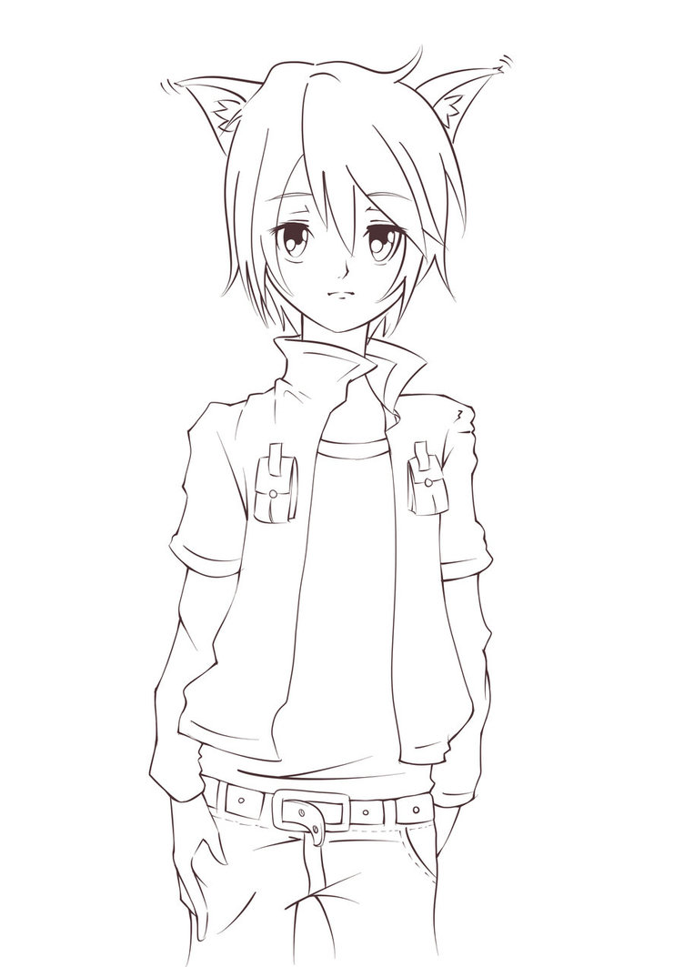 Anime Guys Drawing at GetDrawings.com   Free for personal use Anime ...