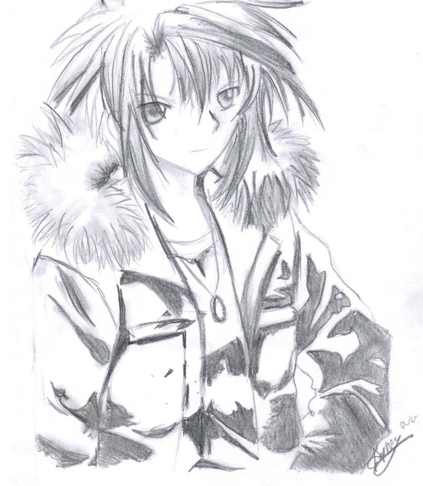 anime male drawings