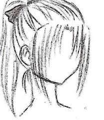 209x241 Drawn Ponytail Beginner Hair