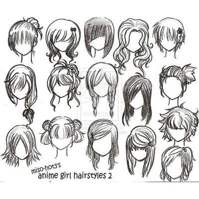 400x400 Anime Hairstyles. Hair Tips