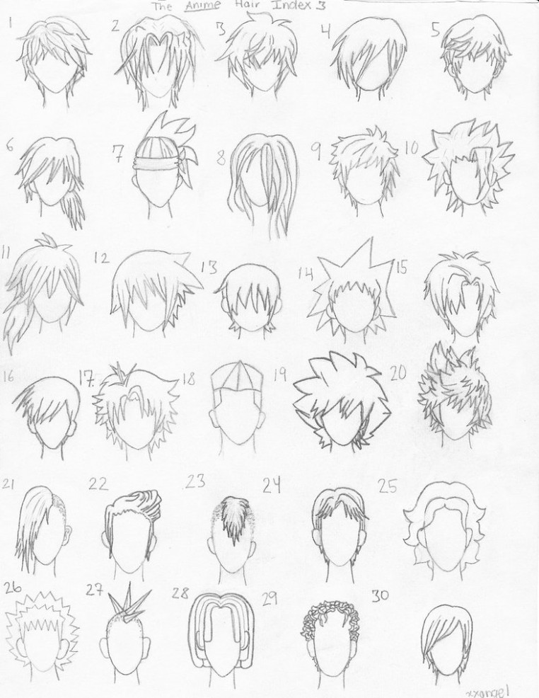 762x986 35 Things You Should Know About Anime Hairstyles Male