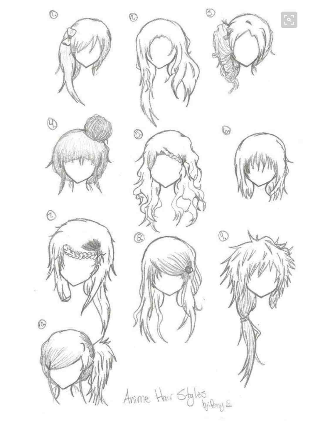 1090x1462 Female Hairstyles Drawing The Big River