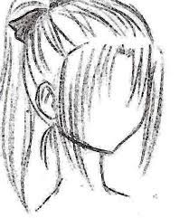 209x241 How To Draw Anime Hair Step By Step For Beginners