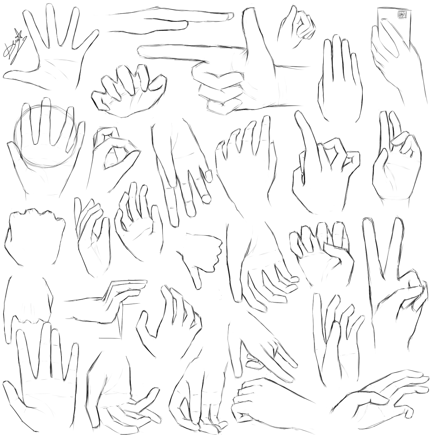 anime hand drawing at getdrawings com free for personal use anime
