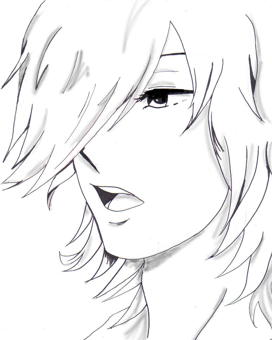 900x1124 Anime Drawing Of A Boy Images For Gt Anime Boy Drawing Eyes Anime
