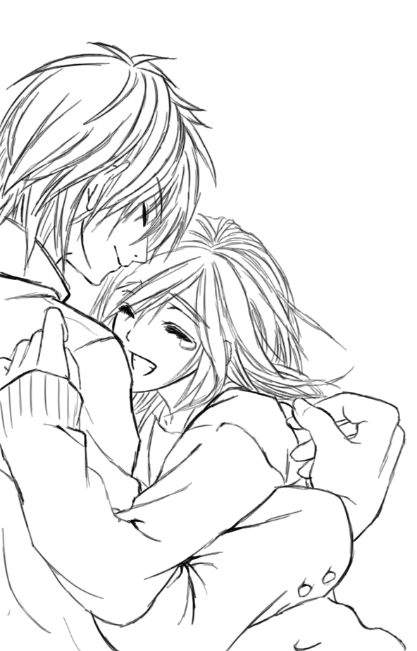 592x923 Couple Sketch By Cantrona