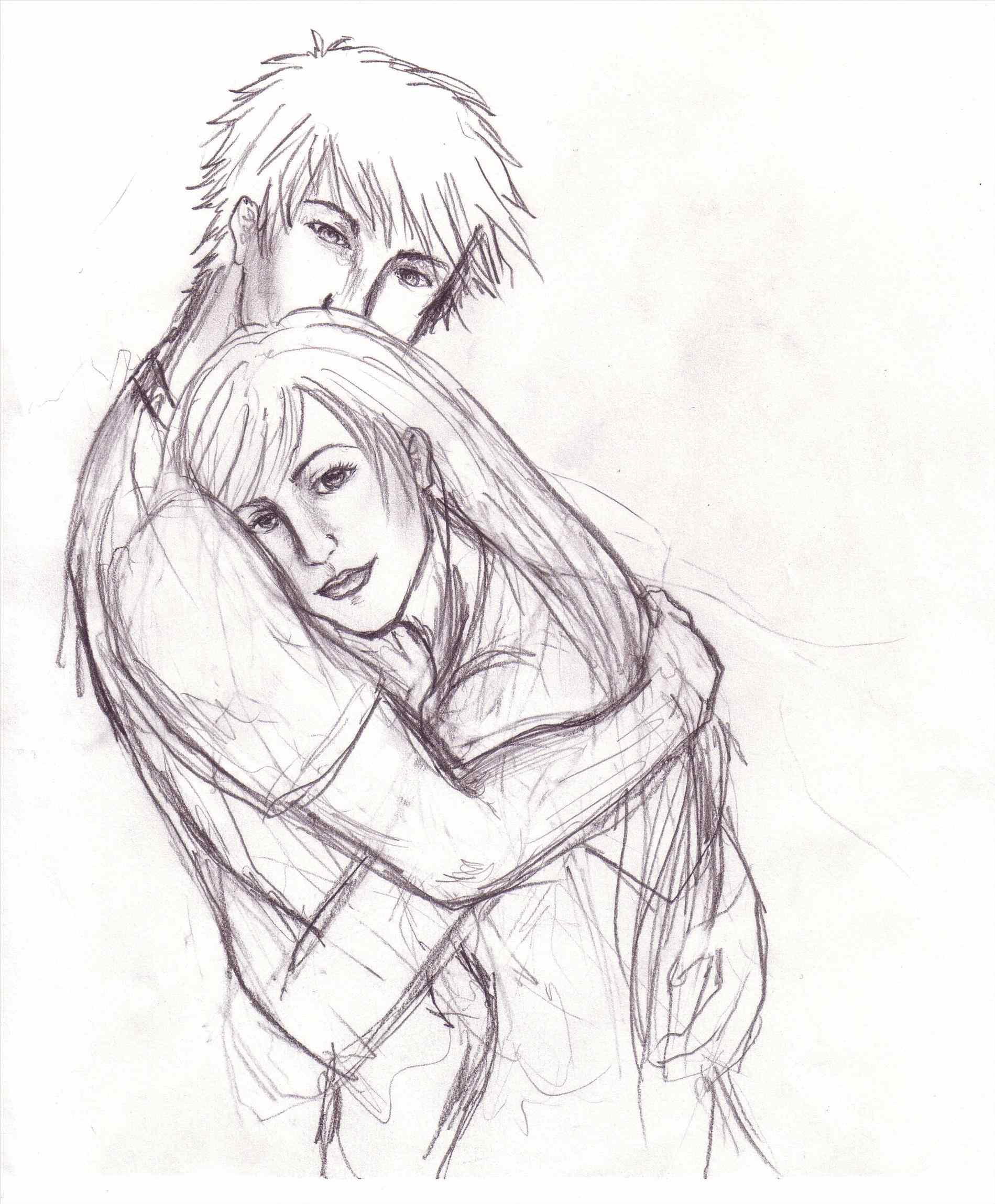 1899x2299 Sad Anime Love Hug Drawings