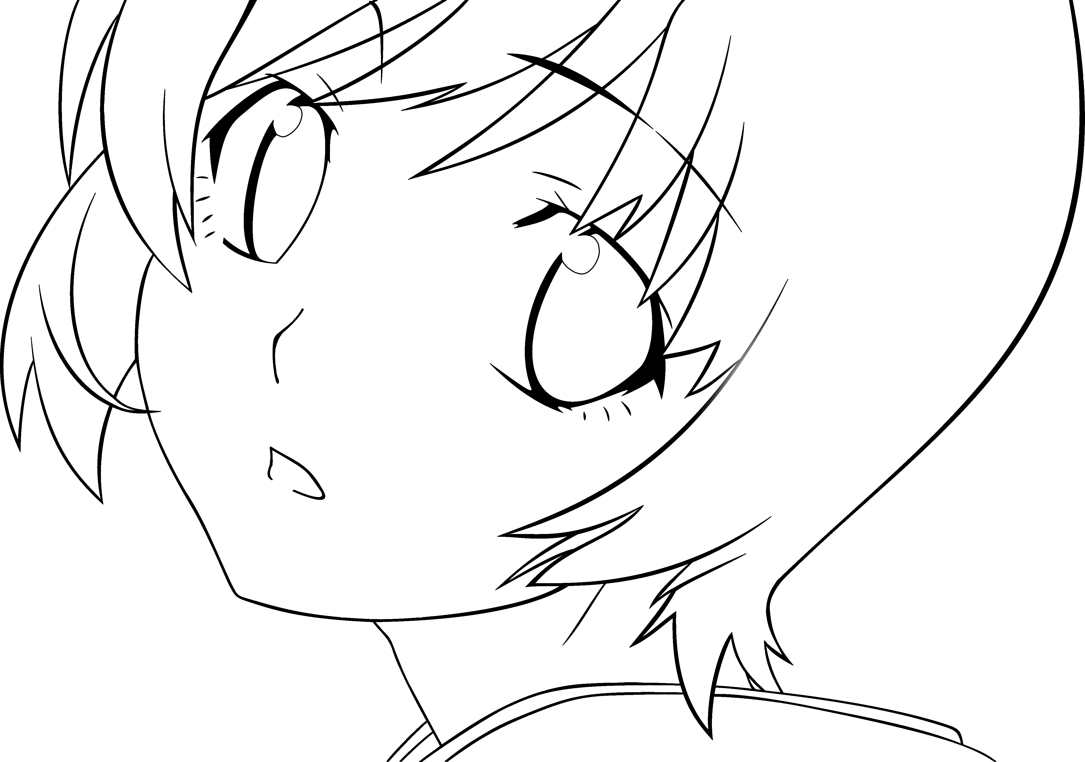 4255x2991 Anime Kids Drawing