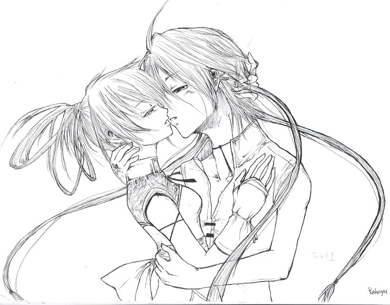 800x625 Couple Kissing Scene Trial1 By Yuyuarts