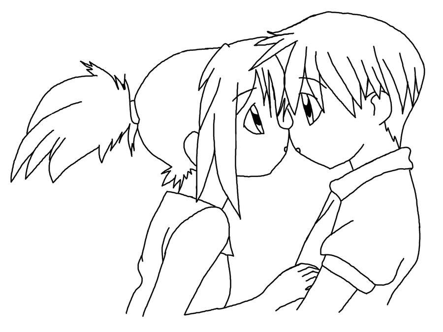 900x675 Anime Couple By Rikuhwanlovesb1a4