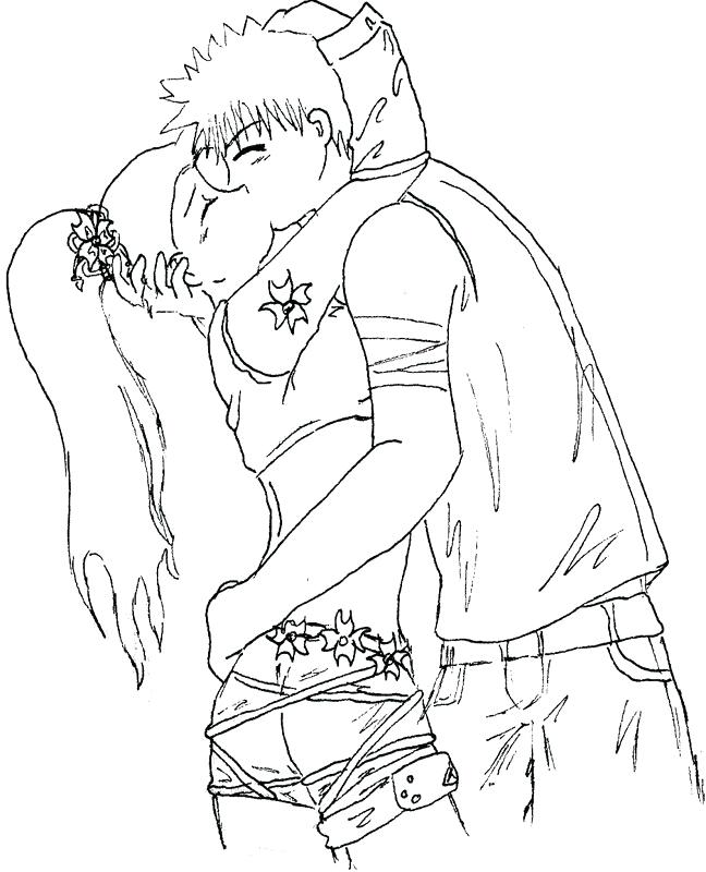 648x800 Cute Anime Kissing Coloring Pages Cute Cartoon Animal Coloring