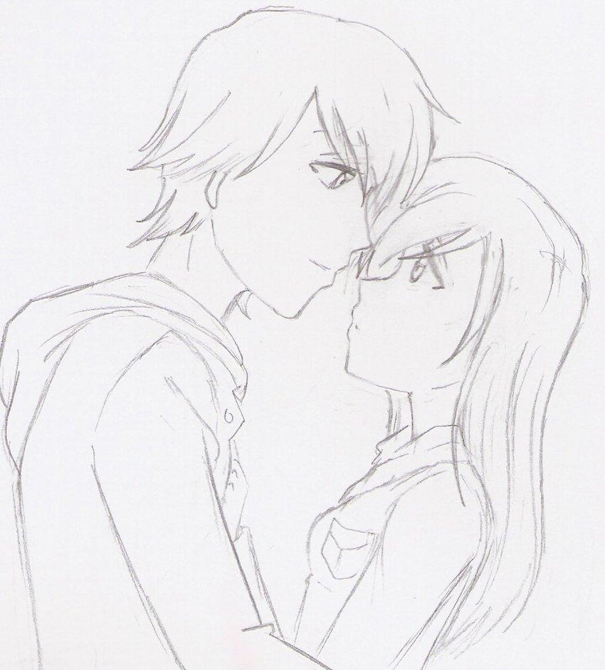 850x941 Anime Love By Elienxxxkitty