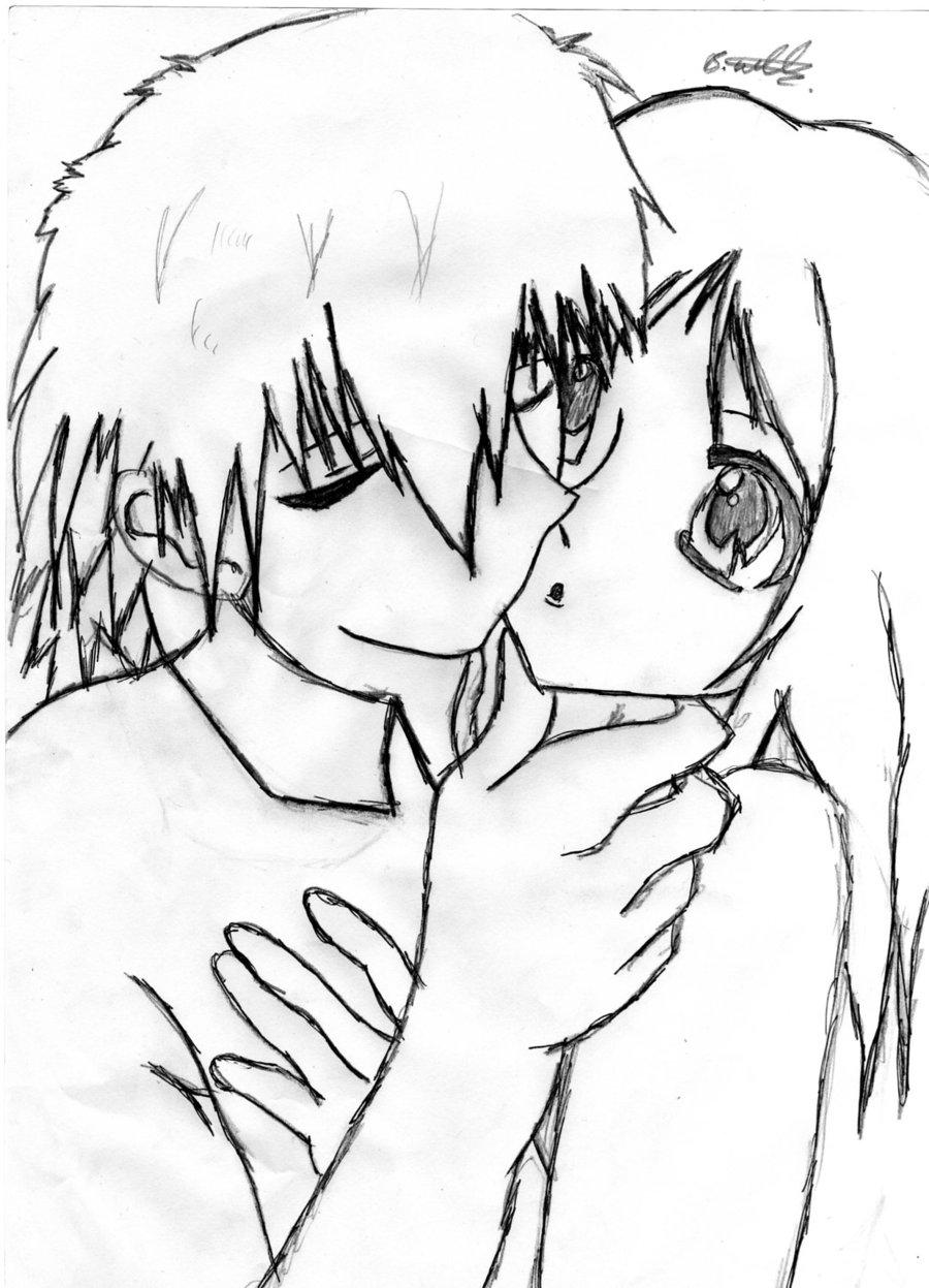 900x1247 Cute Anime Couple By Bethlovesanime