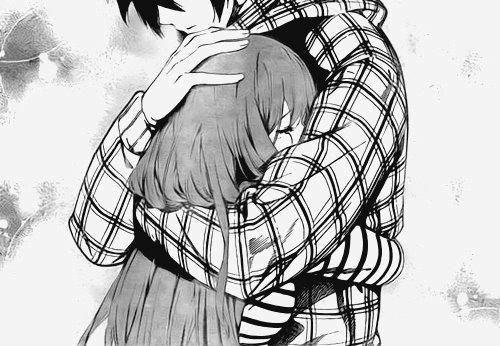 500x346 Sad Anime Love Hug Drawings Hd Wallpaper Gallery