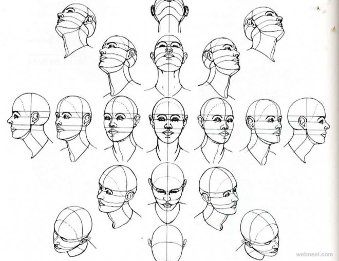 660x508 Drawing How Draw A Male Face Realisticgether With How