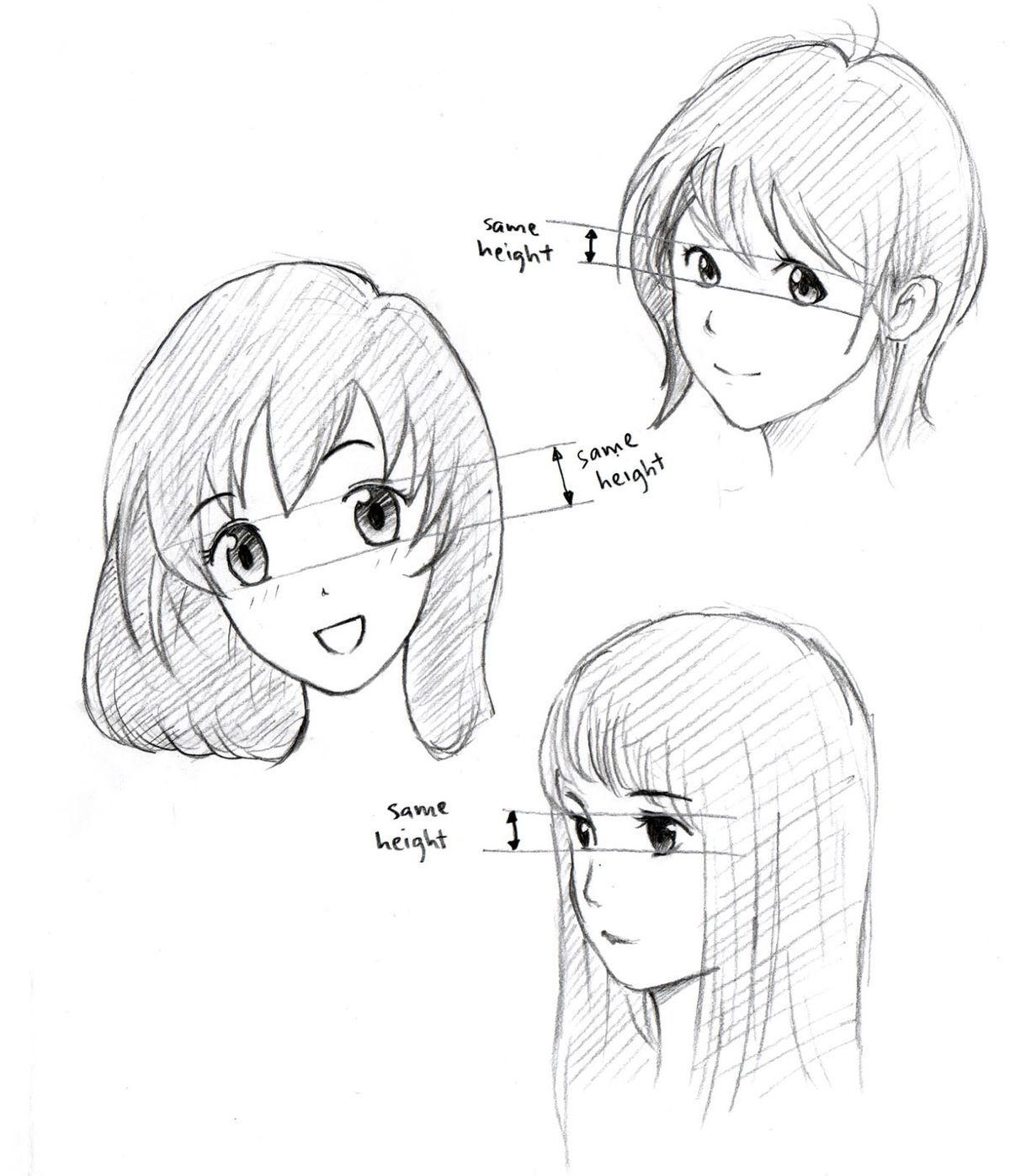 1200x1397 Drawing How Draw An Anime Face And Bodygether With How