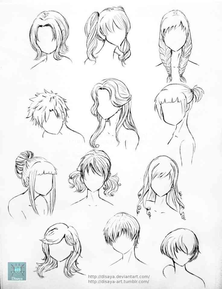 736x958 Anime Drawing Hairstyles 25 Best Ideas About Anime Hair