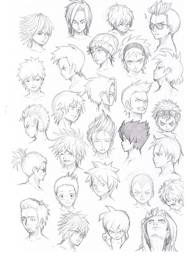 736x1012 Best 20 Anime Hairstyles Male Ideas On Drawing Hair