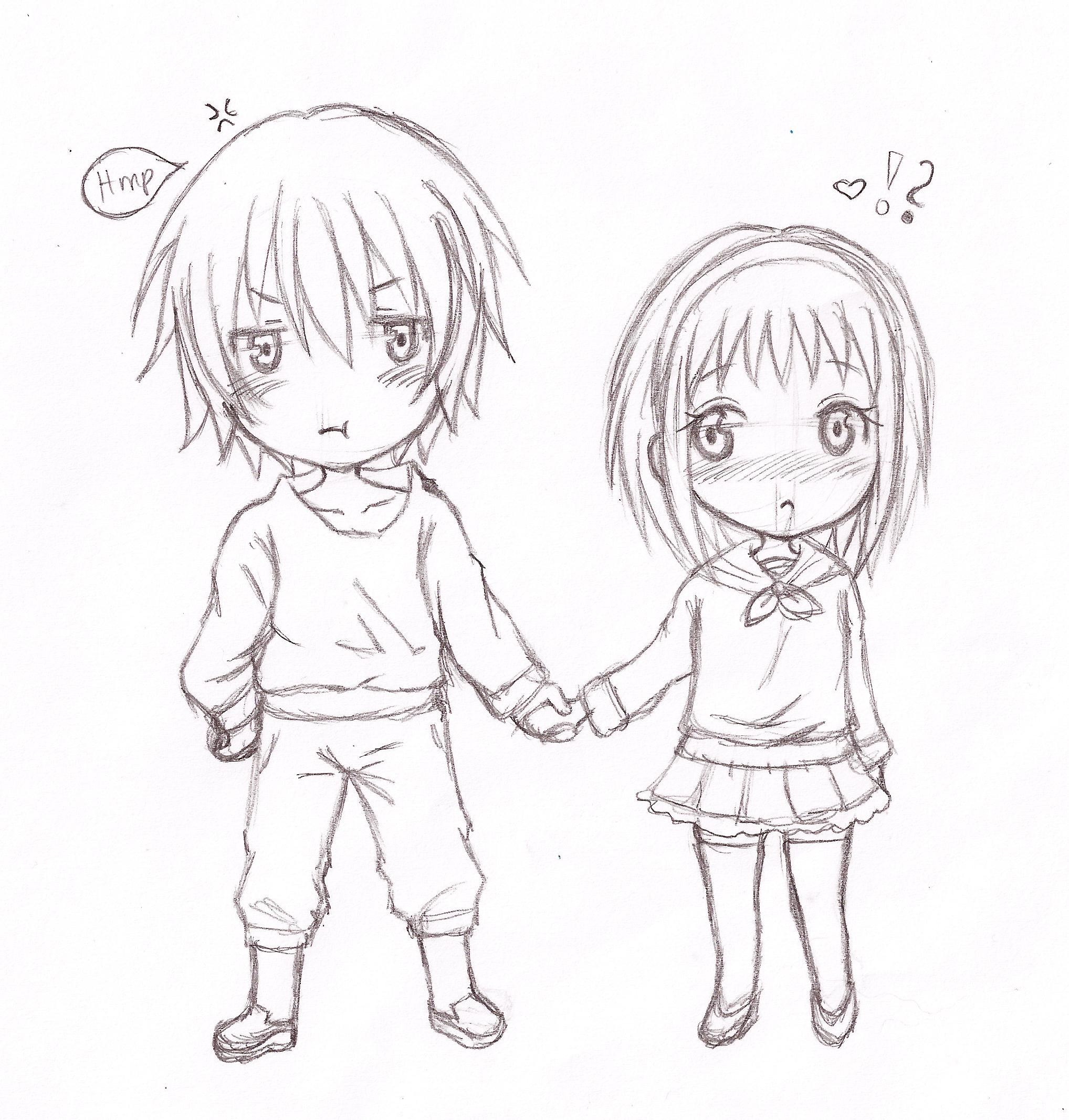 2036x2134 Drawn Anime Chibi
