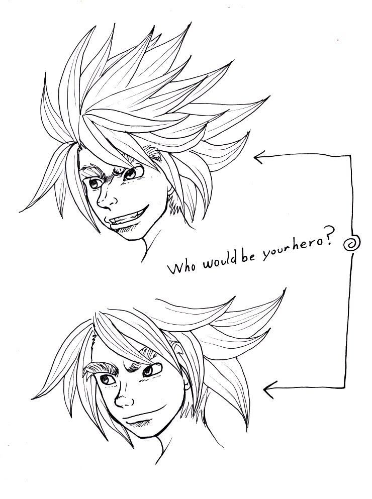 740x993 Keyeske's Blog Who Would Be Your Hero Anime Nose Study