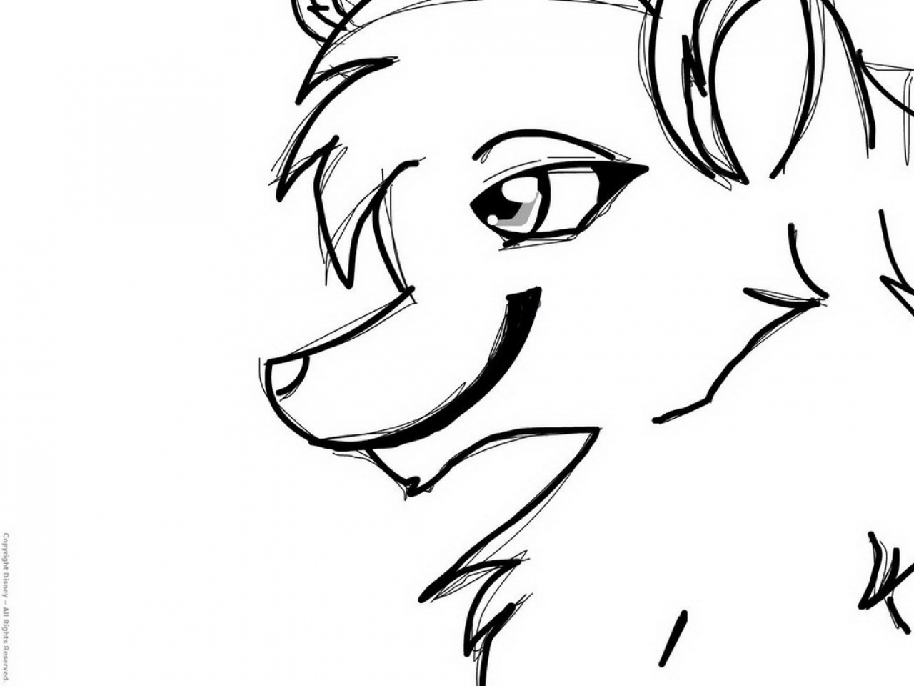 1280x960 Wolf Coloring Pages Anime Inspirational Page Thing Imported Sbacty