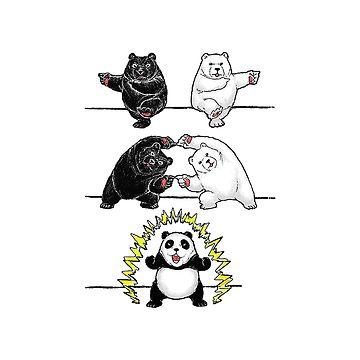 Anime Panda Drawing