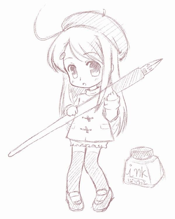 600x749 anime chibi drawings pencil 17839code png chibi pinterest