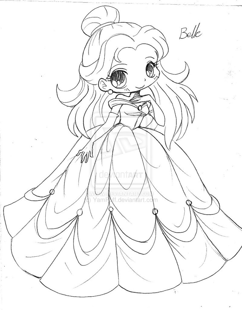 Anime Princess Drawing At Getdrawings Com Free For Personal Use Printable Wedding Coloring Pages 800x1023 Belle
