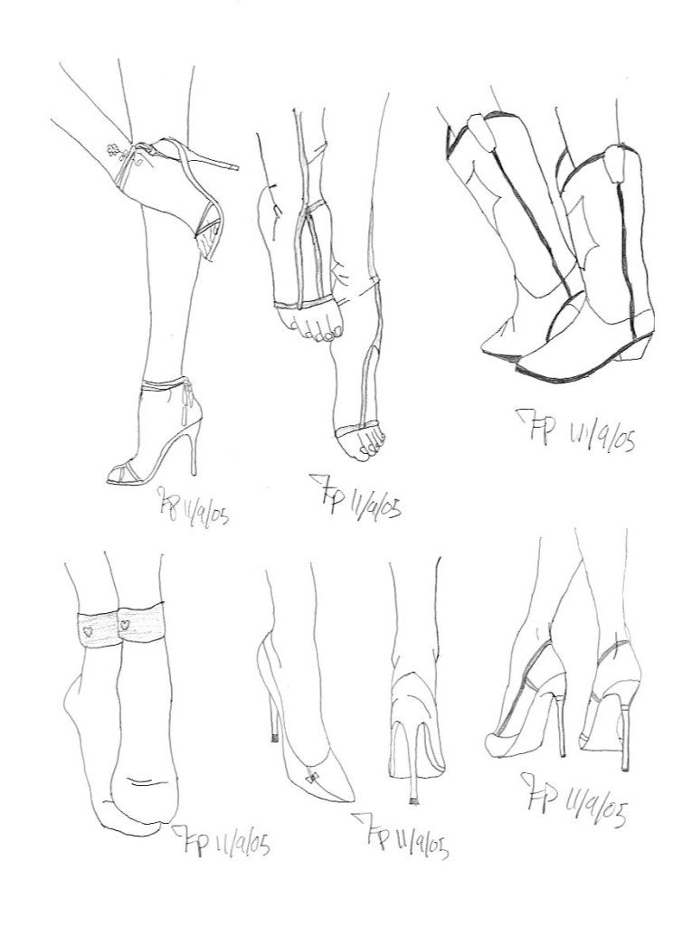 744x1024 how to draw manga feet easily online drawing lessons