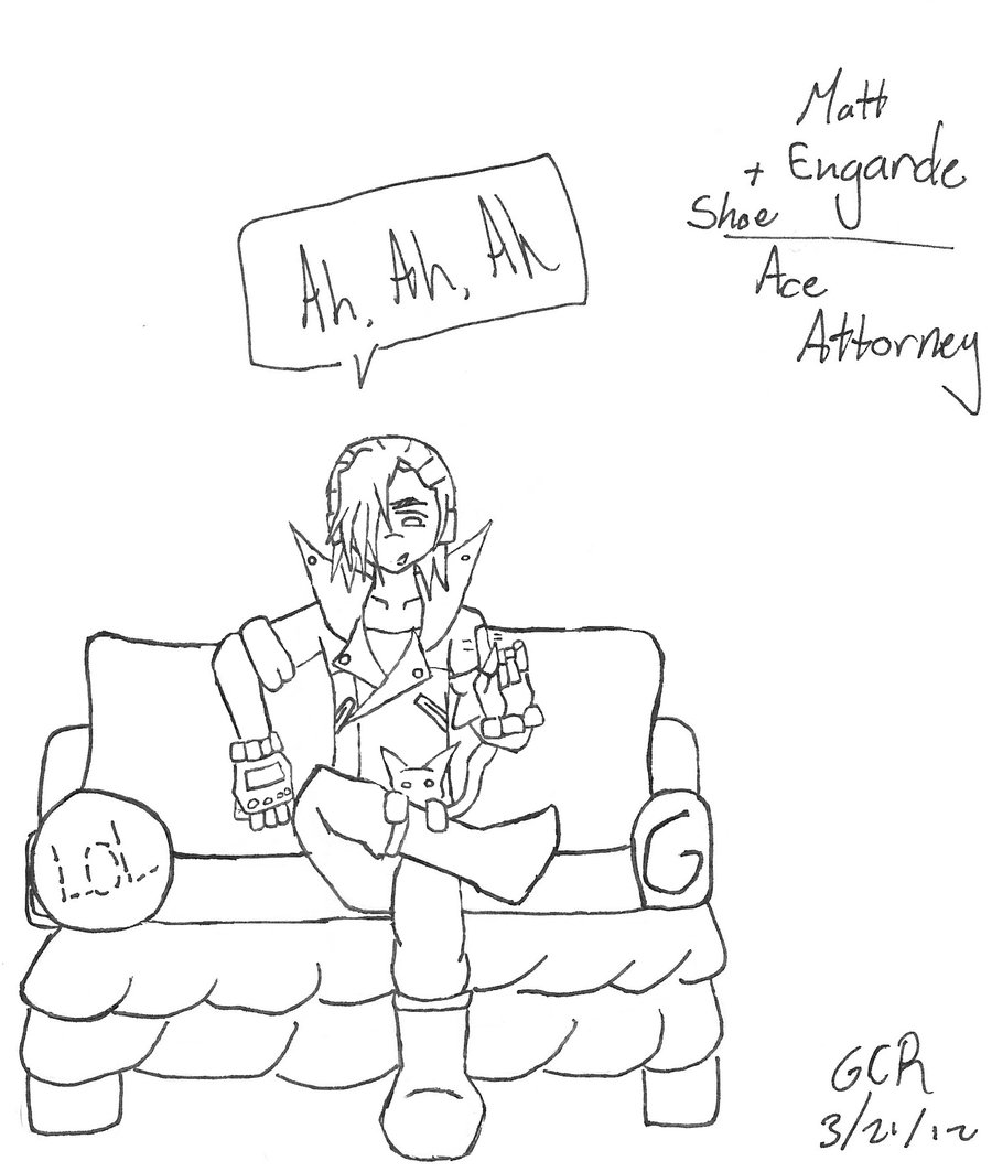 900x1063 Matt Engarde Shoe And A Badly Drawn Couch By Suicidebunny11