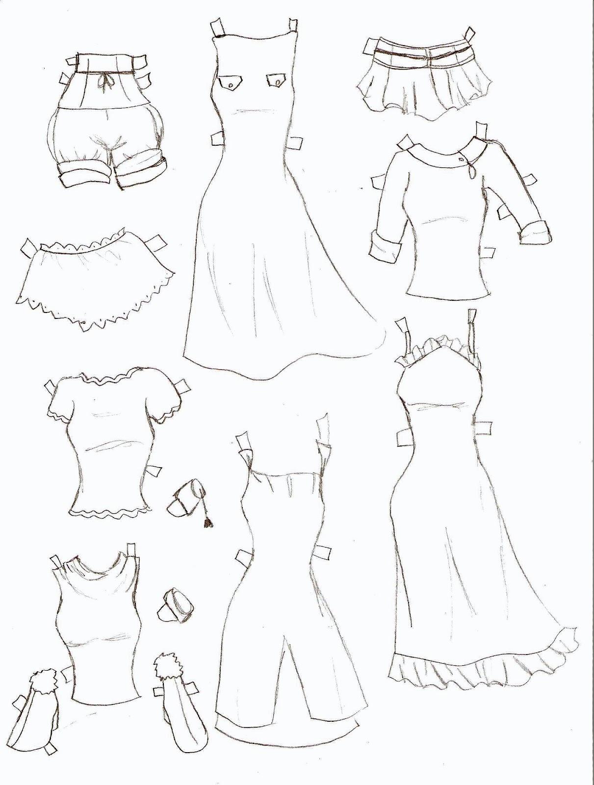 How to draw anime girl shirts