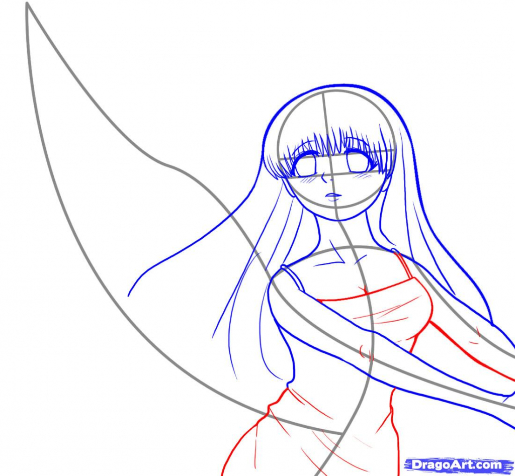 1024x947 Anime Simple Drawings How To Draw Simple Anime, Stepstep, Anime