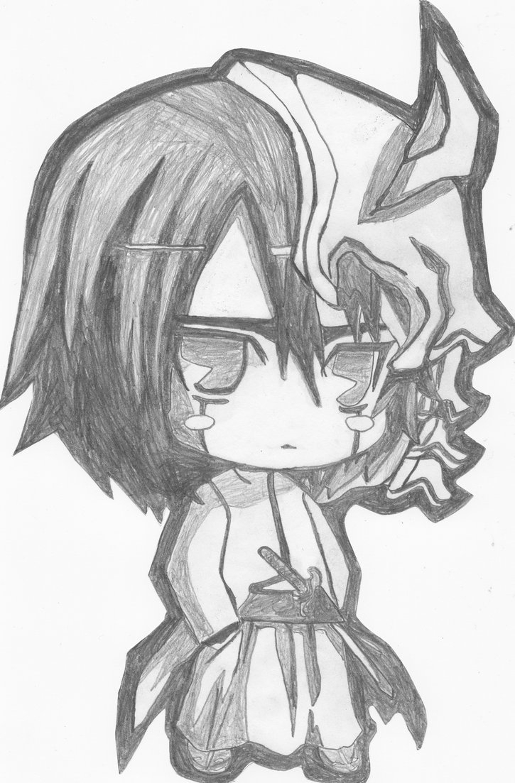 725x1103 Beautiful And Amazing Pencil Sketches Of Anime Anime Chibi