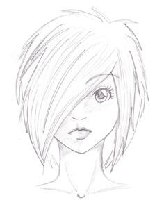 236x298 Anime Coloring Pages Anime Girl Sketch By Mr Awesomenessist