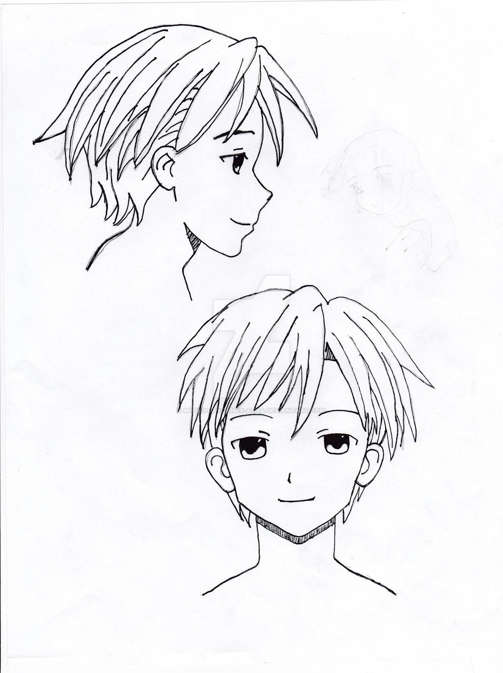 1024x1368 Anime Style Drawings Teen Mangaanime Style Boymuskiplaygames Asha
