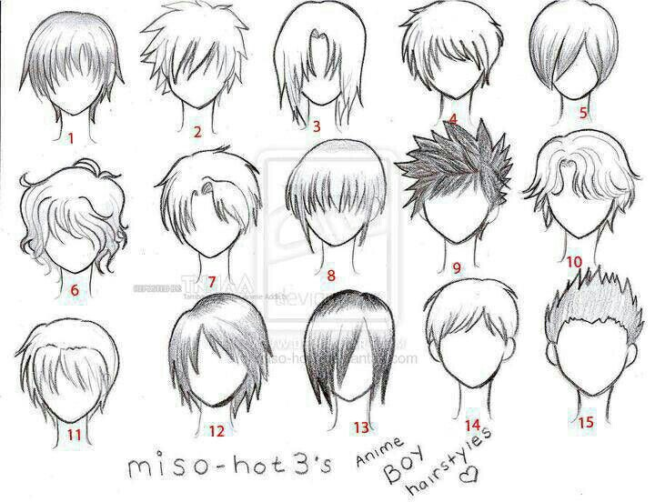 720x552 anime hair boy template anime love pinterest anime hair art