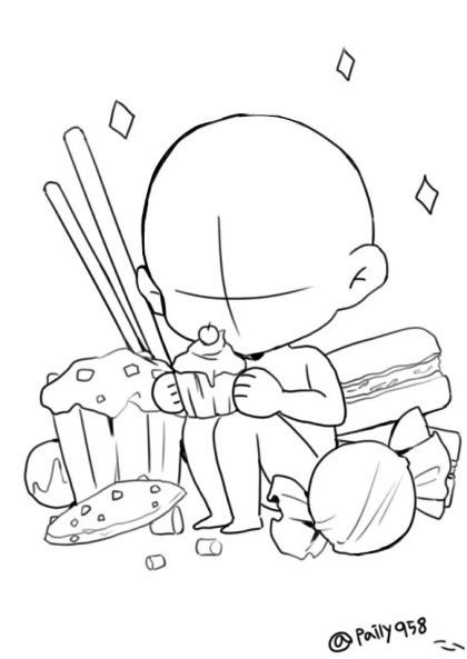 420x593 23 Images Of Chibi Template Drawing Group