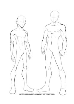 248x350 Pictures Anime Body Template,
