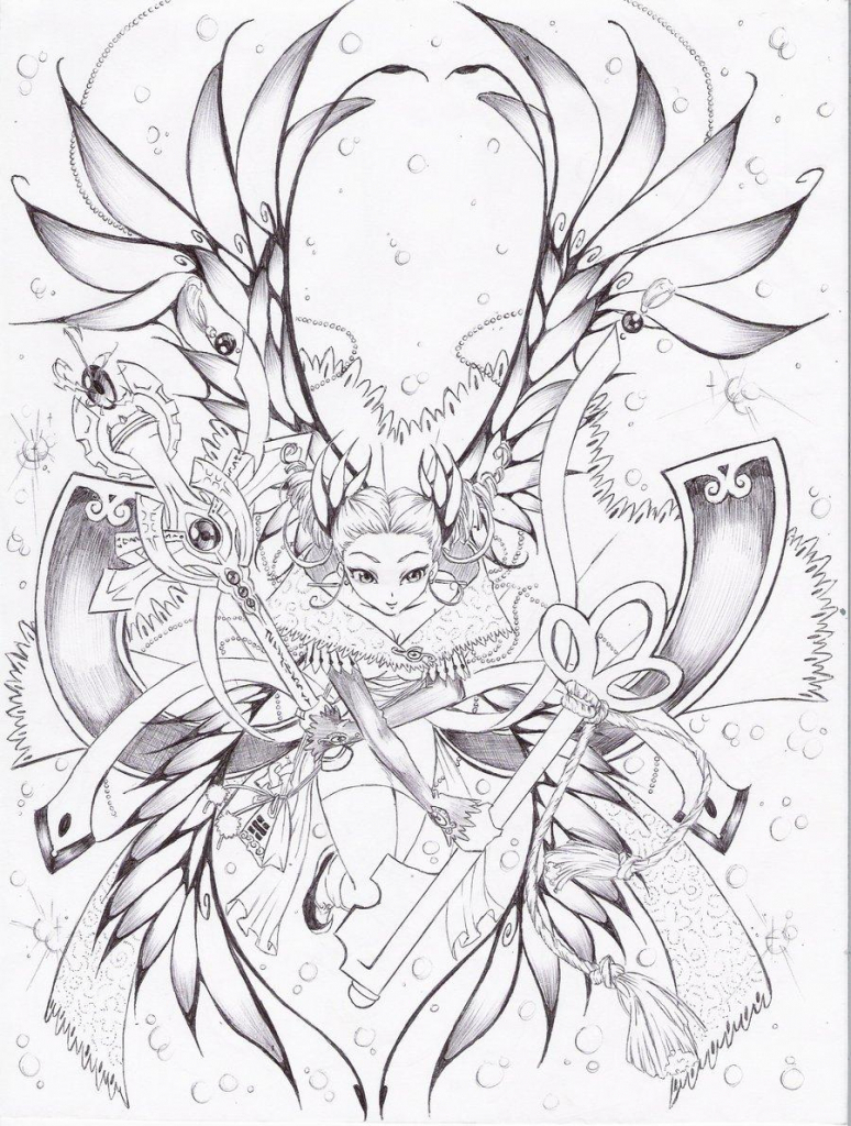 774x1024 Anime Fairy Drawings Anime Fairy Drawing Fairy Drawing. How
