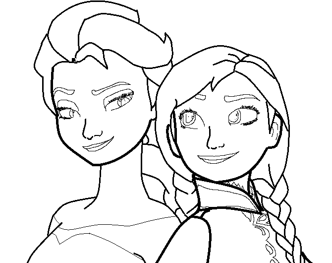 670x530 Elsa And Anna Base By Demi Mlp
