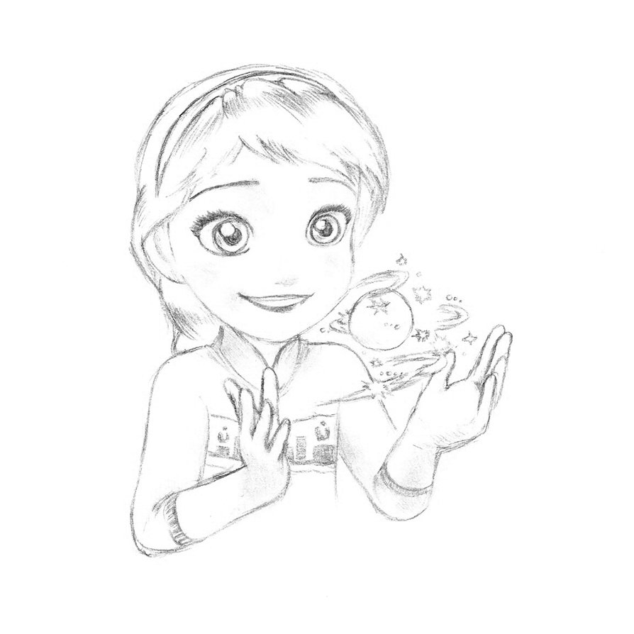 894x894 Elsa Of Arendelle From Disney Frozen By Hepapatitis