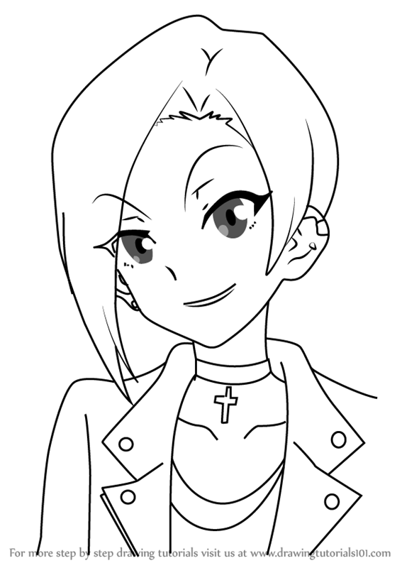 567x800 Learn How To Draw Anna Hibiki From Aikatsu Stars! (Aikatsu Stars