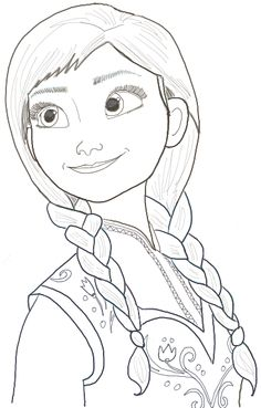236x369 Today I Will Show You How To Draw Princess Anna (As A Teenager
