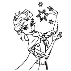 Anna Frozen Drawing
