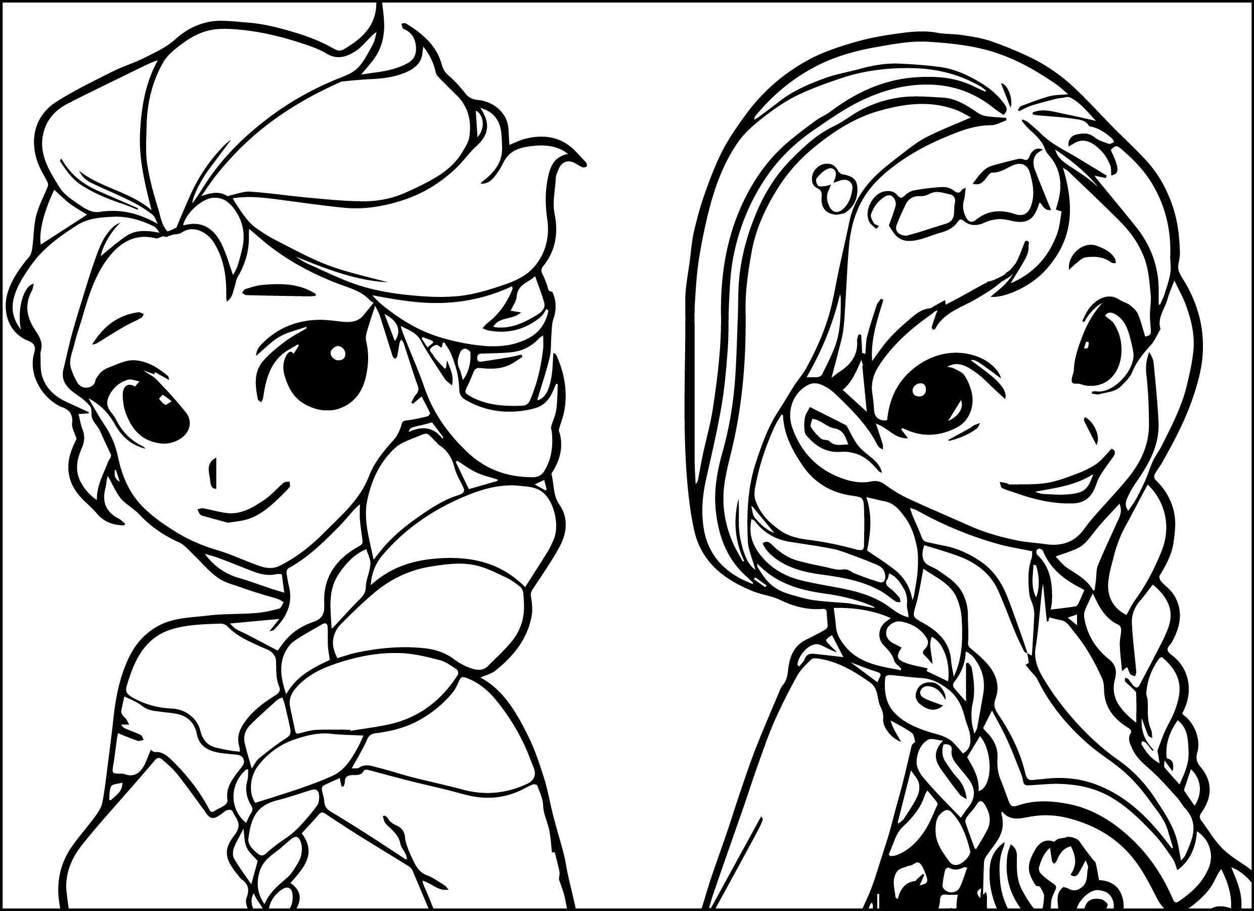 Anna Frozen Drawing At GetDrawings