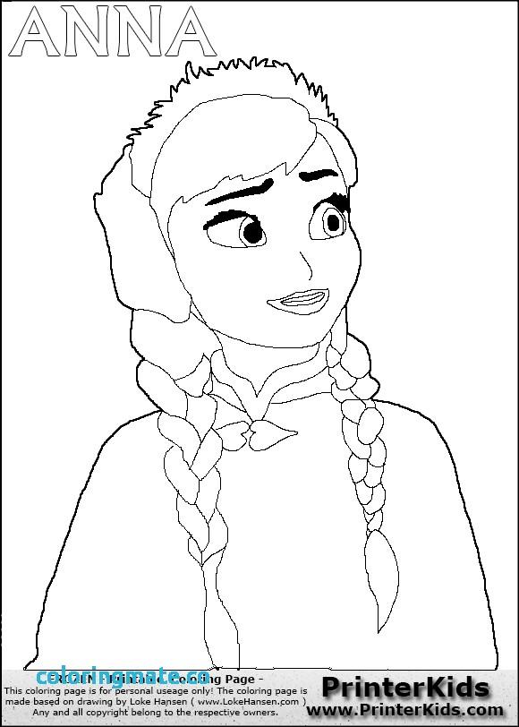 580x812 Anna Frozen Coloring Pages Best Of Disney Princess Frozen Elsa