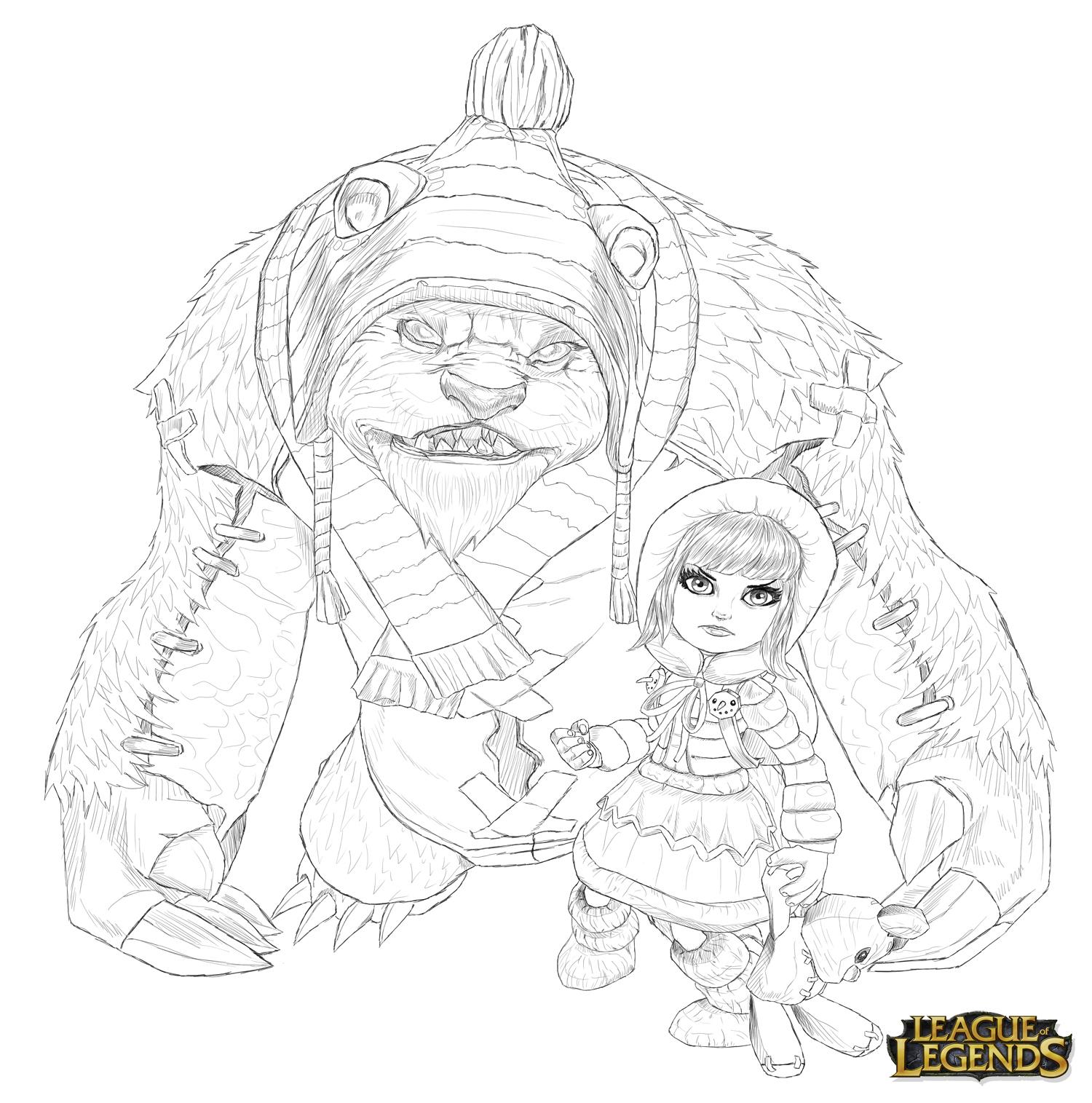 Annie Drawing