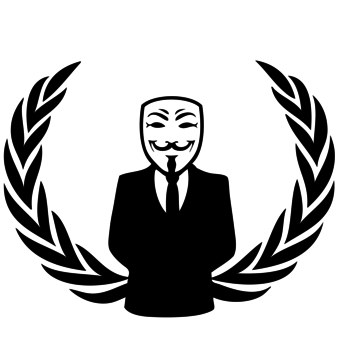 340x340 Anonymous Mask T Shirt Designs Wordans Usa Anonymous 13. Black