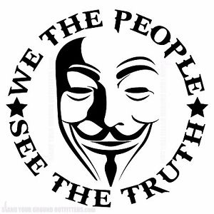 300x300 We The People Revolution V Guy Fawkes Mask Second Amendment 2a