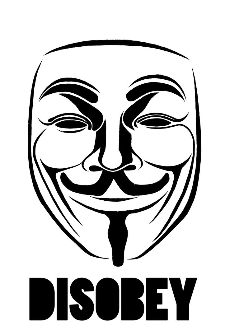 739x1080 Anonymous Mask Logos And Symbols